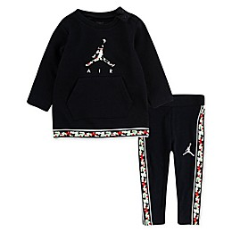 Jordan 2-Piece Air Logo Toddler Tunic and Pant Set in Black