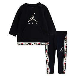 Jordan 2-Piece Air Logo Toddler Tunic and Pant Set in Black