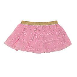 Baby Starters® Gold Glitter Tutu Skirt in Pink