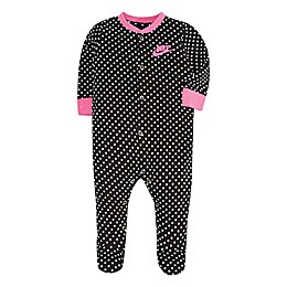 Nike® GFX Footed Coverall in Black