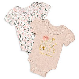 Baby Starters® 2-Pack Little Dreamer Bodysuits in Ivory