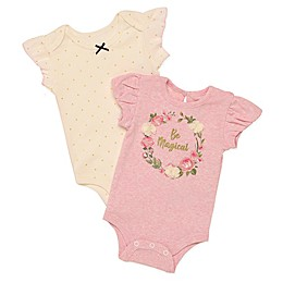 Baby Starters® 2-Pack Magical Bodysuits in Pink