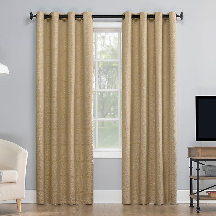 Alternate image 1 for Sun Zero® Evie Grommet Thermal Blackout Curtain Panel (Single)
