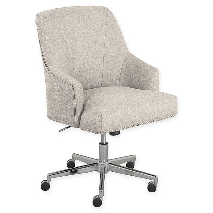 Alternate image 1 for Serta® Leighton Home Office Chair in Light Grey