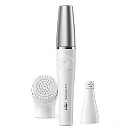 Braun FaceSpa Pro in White/Silver
