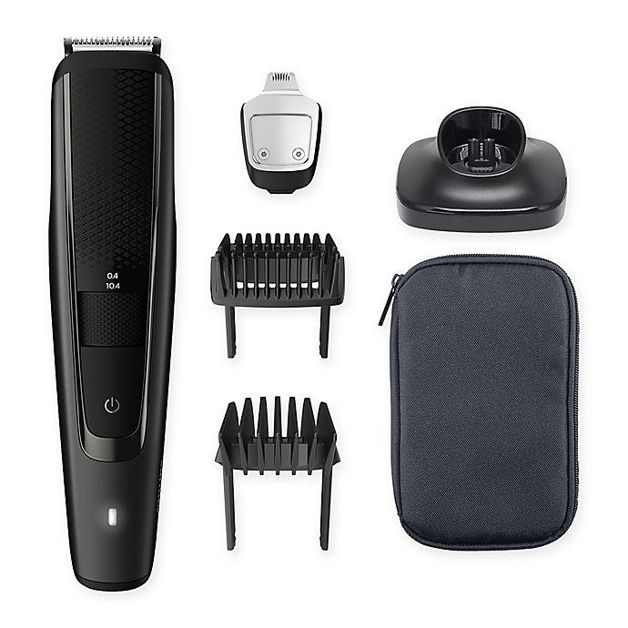 Alternate image 1 for Philips Series 5000 Beard Trimmer in Black