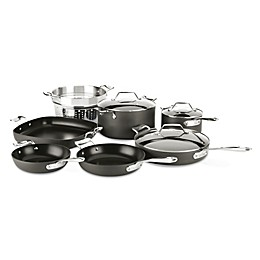 All-Clad Essentials Nonstick 10-Piece Hard-Anodized Cookware Set