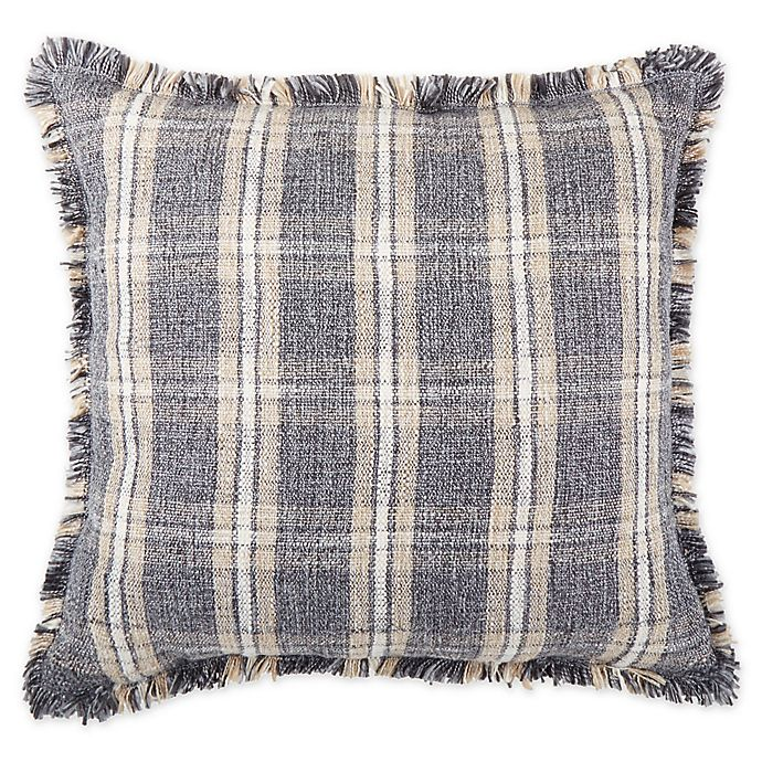 Alternate image 1 for Bee & Willow™ Home Yarn-Dyed Throw Pillows in Black/Tan (Set of 2)