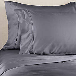 Brookstone® BioSense™ 500-Thread-Count Lyocell Twin XL Sheet Set in Blue Jean
