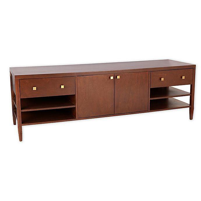 Alternate image 1 for One Kings Lane™ Open House Ambrose Media Console in Walnut