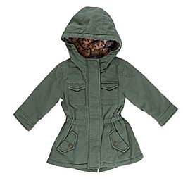 Urban Republic Twill Anorak Toddler Coat in Olive