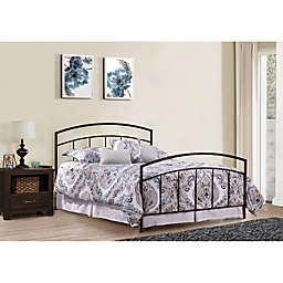 Hillsdale Furniture Julien Bed with Nightstand in Black/Espresso