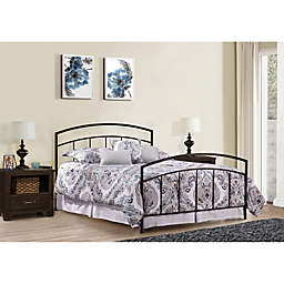 Hillsdale Furniture Julien Bed with Two Nightstands in Espresso