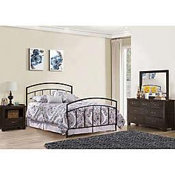 Hillsdale Furniture Julien 4-Piece Bedroom Set in Black/Espresso