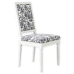 One Kings Lane Open House™ Calais Side Chairs in Onyx Toile (Set of 2)
