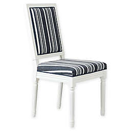One Kings Lane™ Open House Calais Side Chairs in Blue Cording Stripe (Set of 2)