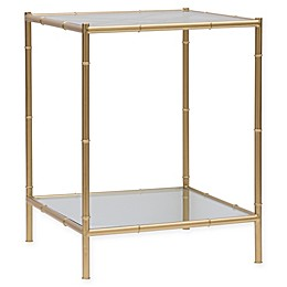 One Kings Lane Open House™ Huntley Side Table in Aged Gold