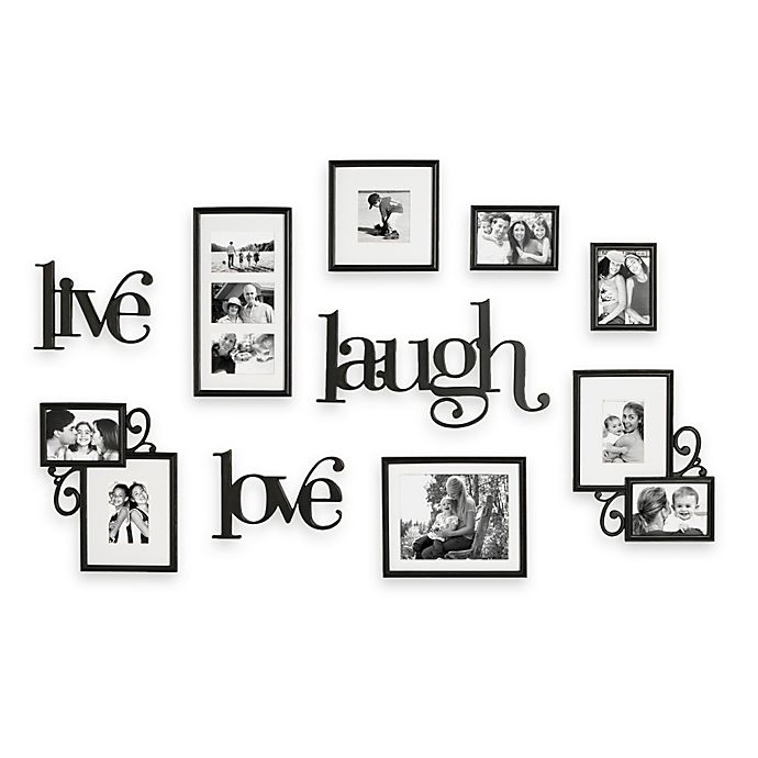 WallVerbs™ 10-Piece Live Laugh Love Wall Collection | Bed Bath & Beyond