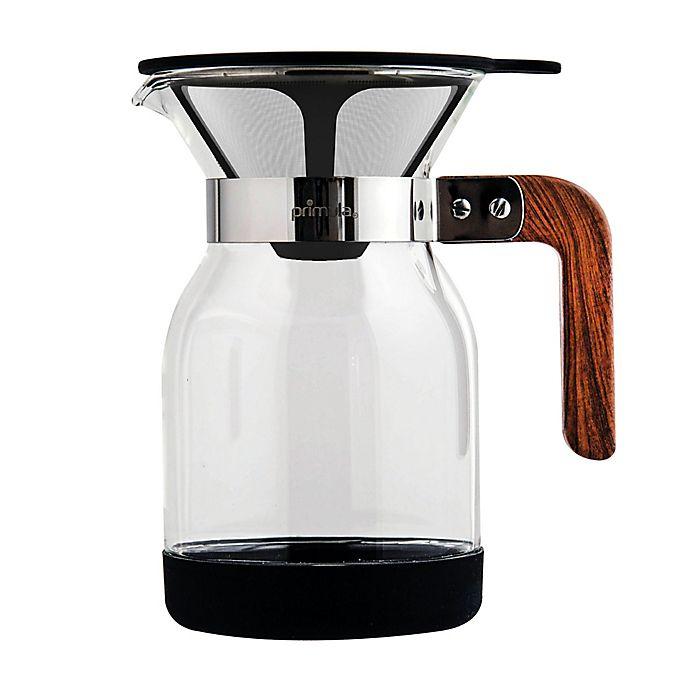 Alternate image 1 for Primula® 36 oz. Pour-Over Coffee Maker in Black