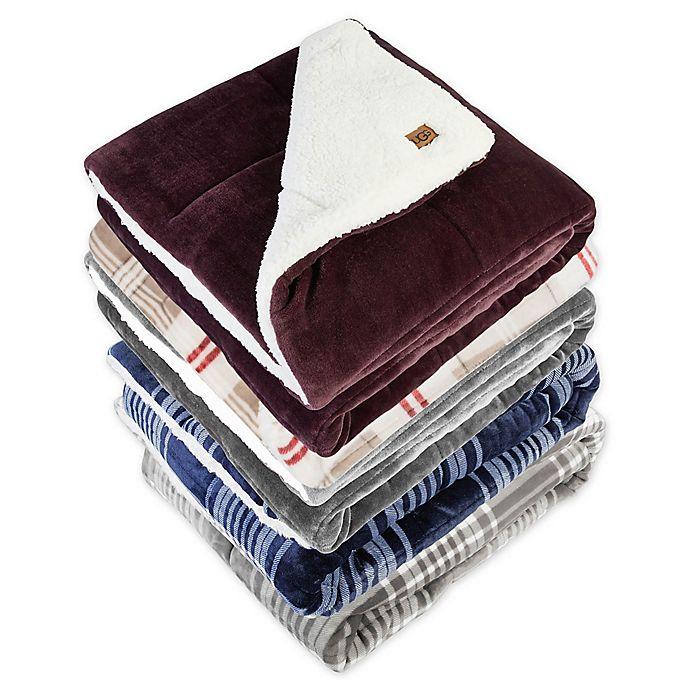 Ugg 174 Avalon Reversible Throw Blanket Bed Bath Amp Beyond