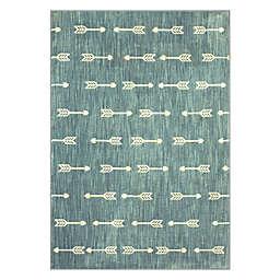 Marmalade™ Finnick Arrow Stripe 5' x 7' Area Rug in Blue