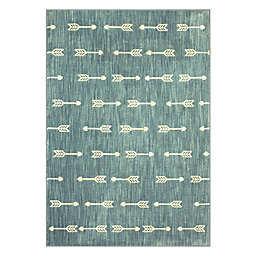 Marmalade™ Finnick Arrow Stripe 5' x 7' Area Rug in Blue