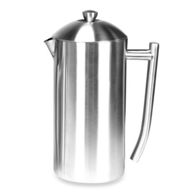Frieling Insulated Stainless Steel French Press In Brushed Finish Bed Bath Beyond