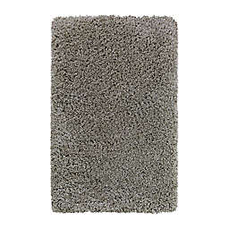 Bee & Willow™ Home Bella 2'7 x 4'2 Shag Accent Rug in Silver