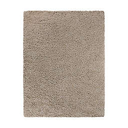 Bee & Willow™ Home Bella 9'2 x 12' Shag Area Rug in Light Taupe