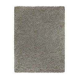 Bee & Willow™ Home Bella 5'3 x 6'11 Shag Area Rug in Silver