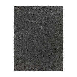 Bee & Willow™ Home Bella 5'3 x 6'11 Shag Area Rug in Grey