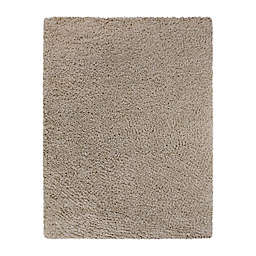 Bee & Willow™ Home Bella 7'10 x 10' Shag Area Rug in Light Taupe