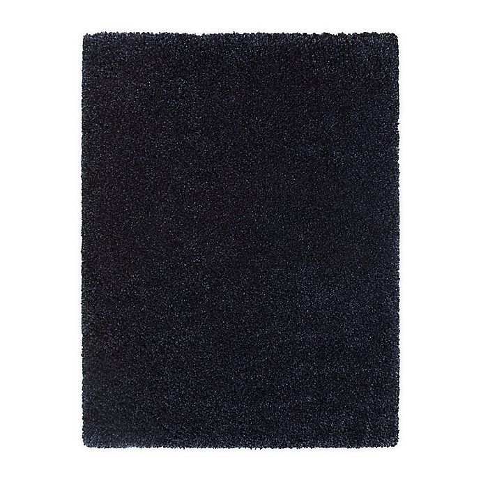Alternate image 1 for Bee & Willow™ Home Bella 7'10 x 10' Shag Area Rug in Navy
