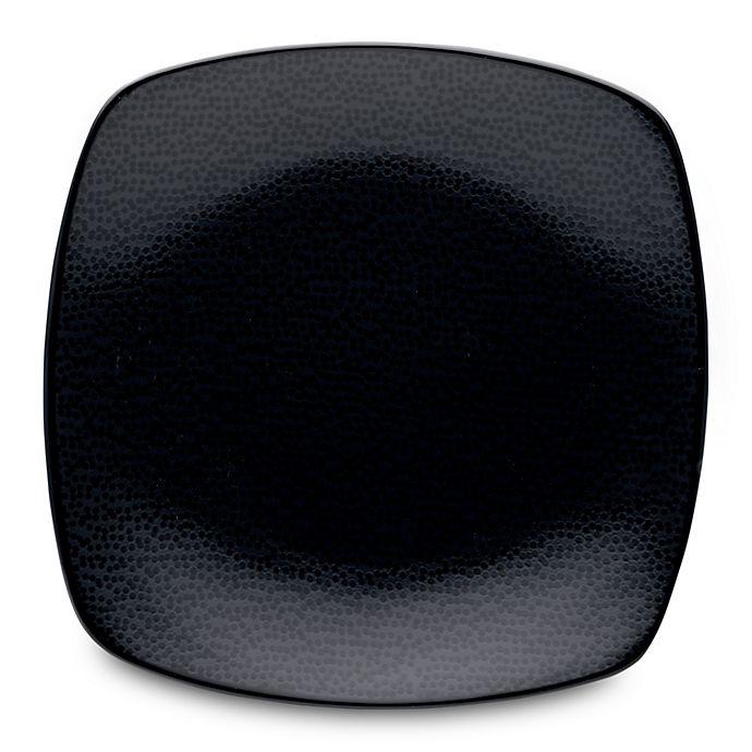 Alternate image 1 for Noritake® Black on Black Snow Square Salad Plate