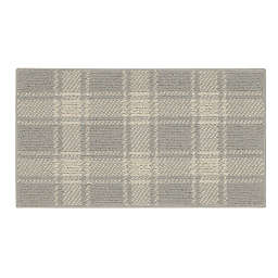 Bee & Willow™ Plaid 1'8 x 2'10 Accent Rug in Grey/Cream