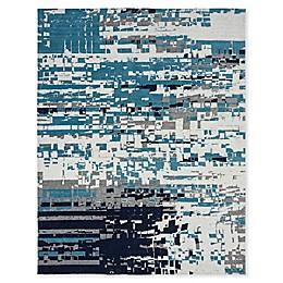 Abstract Powerloomed Rug
