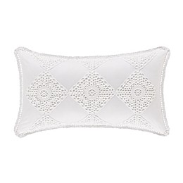 Piper & Wright Jackie Oblong Throw Pillow in White
