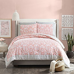 Jessica Simpson Coral Gables 3-Piece Reversible Comforter Set