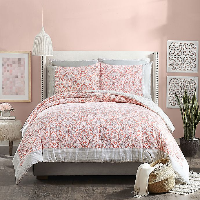 Alternate image 1 for Jessica Simpson Coral Gables 3-Piece Reversible Comforter Set