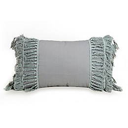 Jessica Simpson Coral Gables Oblong Throw Pillow in Grey
