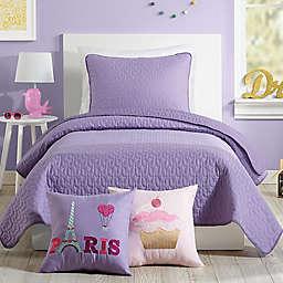 Urban Playground Coty Quilt Set in Purple