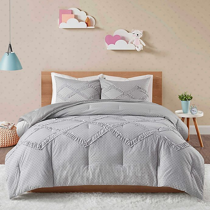 Alternate image 1 for Felicity Twin/Twin XL Comforter Set in Black