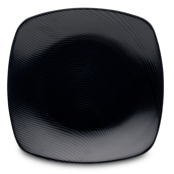 Alternate image 1 for Noritake® Black on Black Dune Square Platter