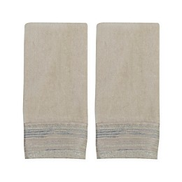Croscill® Darian Hand Towels in Taupe (Set of 2)