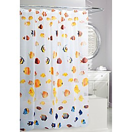 Moda at Home Back to School PEVA Shower Curtain