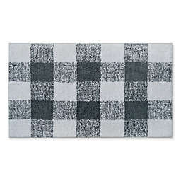 "Bee & Willow™ Home Plaid 21"" X 34"" Bath Rug"