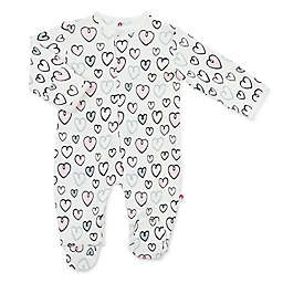EMC2 Heartfelt Love Magnetic Footie in Pink