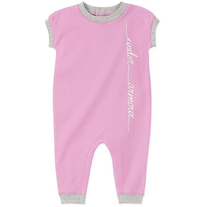 Alternate image 1 for Under Armour® Script Coverall in Pink
