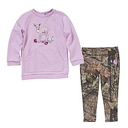 Carhartt® 2-Piece Tunic and Legging Set in Purple Deer Camo