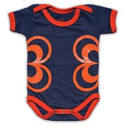 Grip-a-Baby™ Petals Non-Slip Bodysuit in Blue/Orange